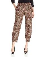 Lark & Ro Women's Cropped Soft Pant,...