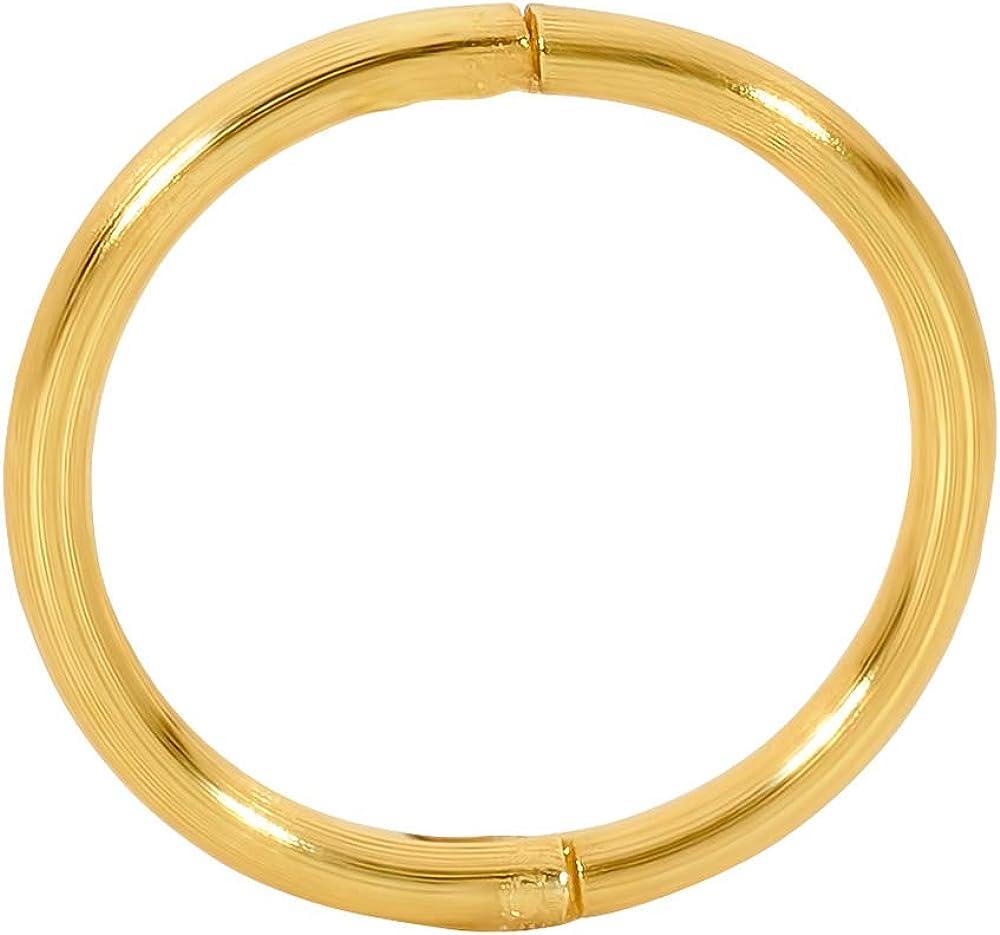 18 g Unisex 8 mm Orecchino da Naso in Argento Sterling Placcato Oro 365 Sleepers