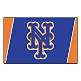 FANMATS MLB New York Mets Nylon Face 4X6 Plush Rug