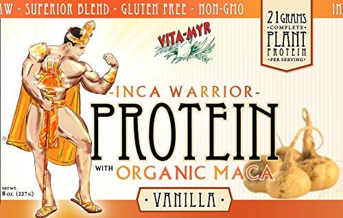 VANILLA INCA WARRIOR PROTEIN w/Organic Maca 8