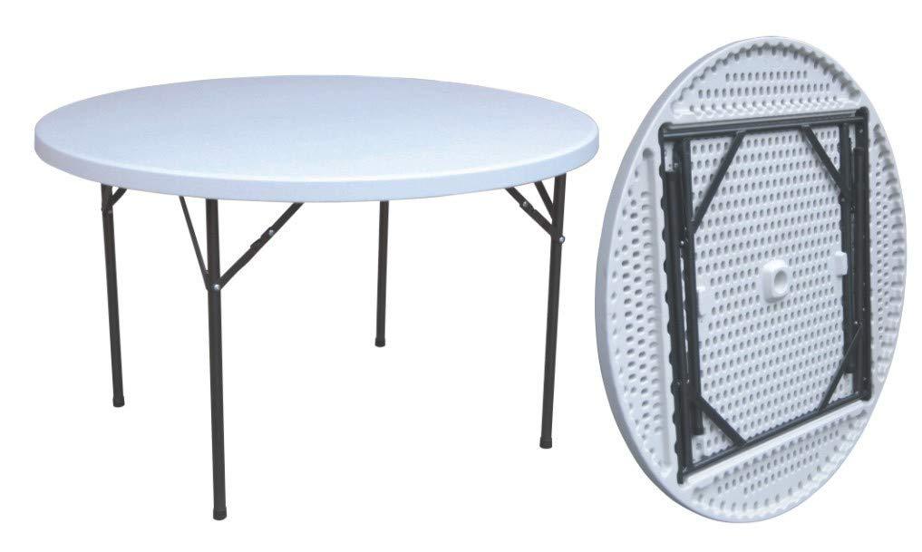Tavolo Rotondo Per Esterno.Tavoli Da Esterno Tavolo Tavolino Rotondo Pieghevole Xl
