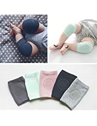 Baby Knee Protection Pads Crawling Protector Leg Warmers Kids Safety Cotton 4pcs