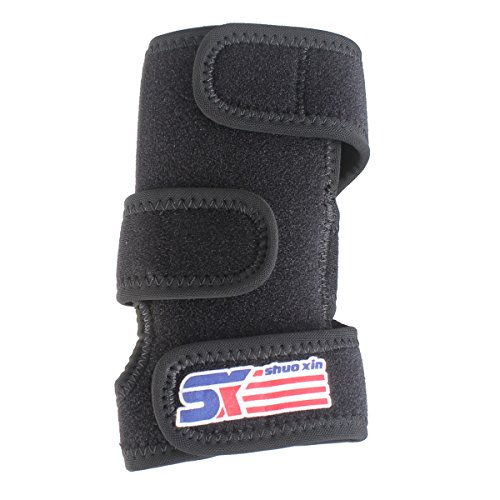 Medical Carpal Tunnel Wrist Brace Support Sprain Forearm Splint Band Stra Black