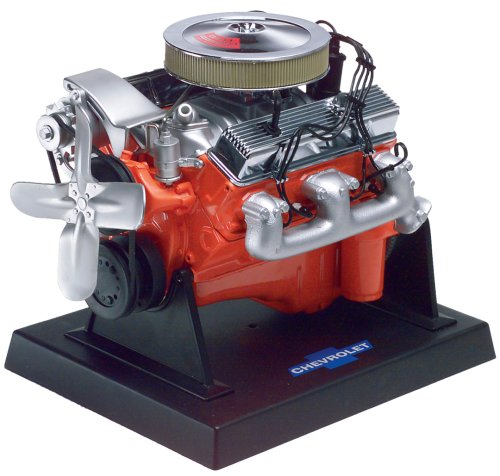 (Revell 85-1566 Metal Body 350 C.I. LT-1 Chevy Small Block Engine Model Kit )