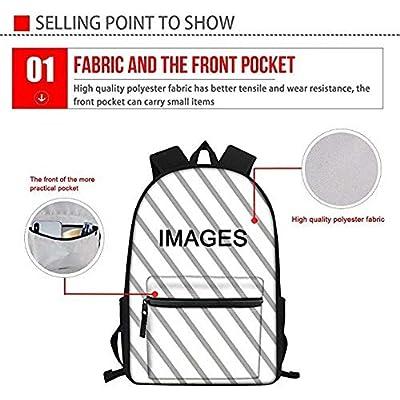 Aulaygo Po-ke-mon Pi-ka-chu School Backpack Set Durable Book Bags Lunch Box Pencil Case for Boys/Girls | Kids' Backpacks