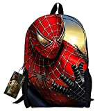 Bebamour New Style Spiderman Patterns Back to School Backpacks Superman School Bags (sunshine)
