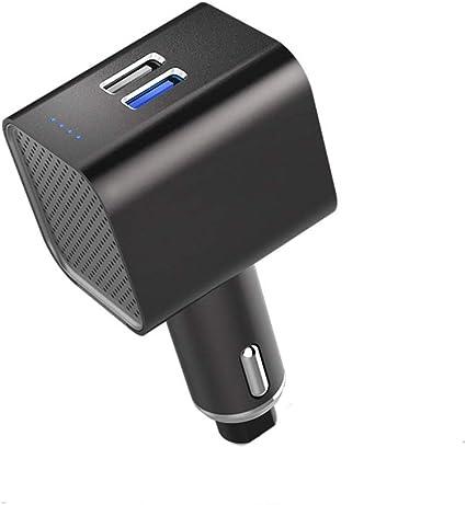 El purificador de aire del automóvil, liberación de iones negativos además del formaldehído Pm2.5 también puede cargar teléfonos móviles: Amazon.es: Coche y moto