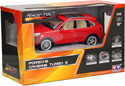 Amazon.com: Auld Eytoys LC258120 – Porsche Cayenne Turbo S, Vehicle, Red: Toys & Games