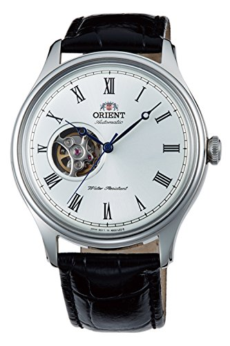 Orient Open Heart Automatic White Dial Mens Watch ()