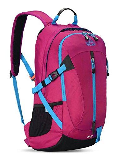 Al aire libre hombres y mujeres montañismo paquete 30L mochila de senderismo bolsa de hombro escalada