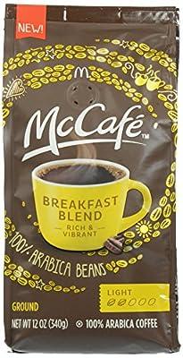 McCafe Roast and Ground Coffee, Breakfast Blend, 12 oz