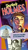 Sherlock Holmes in Washington [VHS]