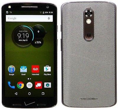 Motorola DROID Turbo 2 XT1585 - 32GB Verizon (Renewed) (Grey Ballistic)