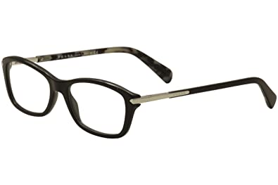 fd11290accc2 Image Unavailable. Image not available for. Color  Prada PR04PV Eyeglass  Frames 1AB1O1-54 - Black