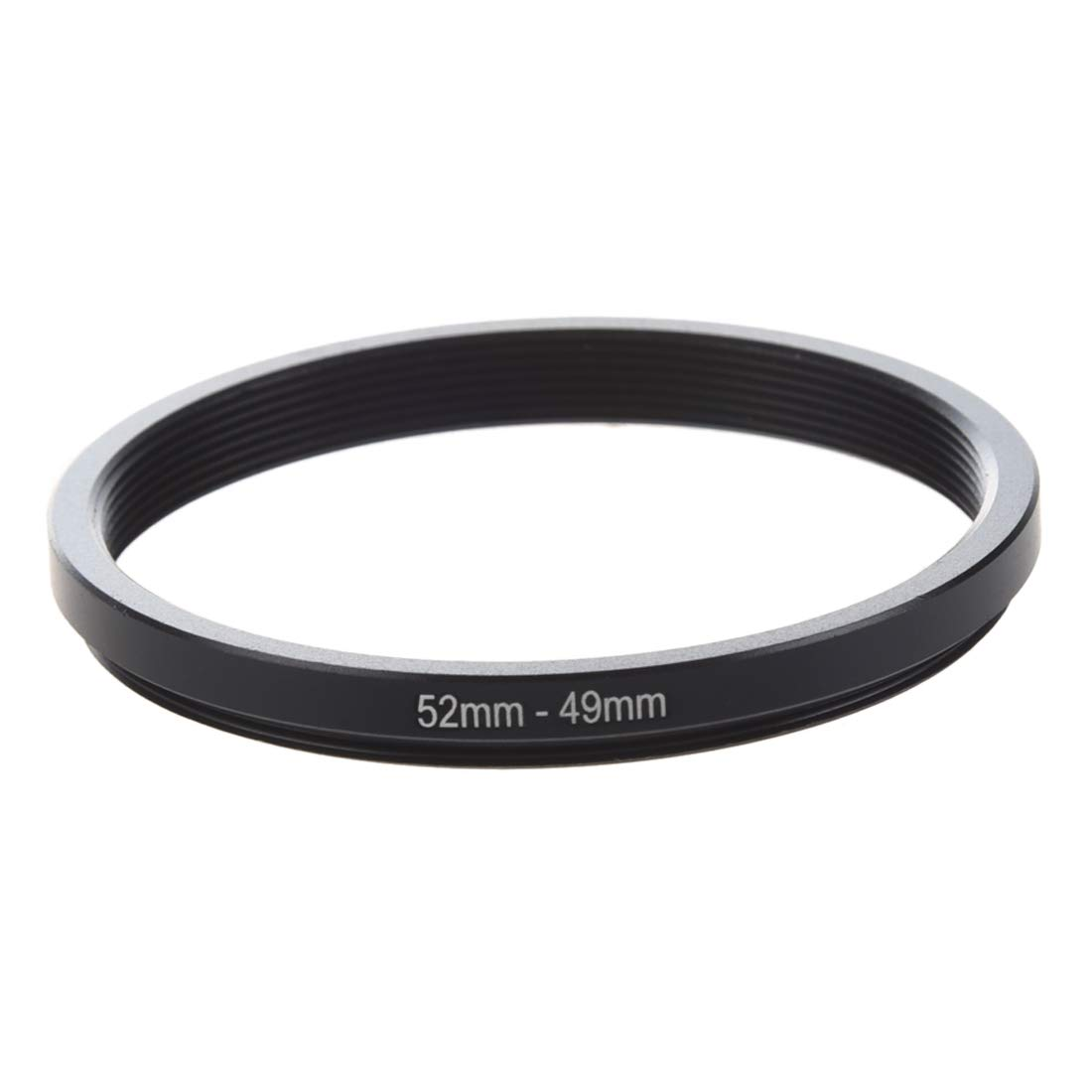 SODIAL(R) 52mm-49mm 52mm to 49mm Black Step Down Ring Adapter for Camera 008309