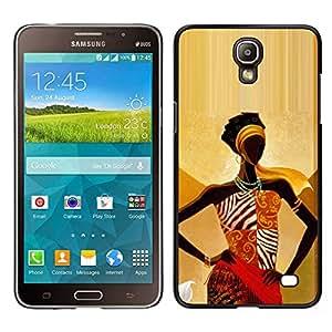 iBinBang / Funda Carcasa Cover Skin Case - Or Déesse Femme Lady - Samsung Galaxy Mega 2