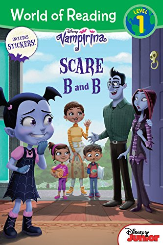 World of Reading: Vampirina Scare B and B: Level 1 with Stickers (Vampirina: World of Reading, Level 1)
