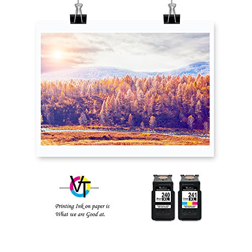 Valuetoner Remanufactured Ink Cartridge Replacement PG-240XL CL-241XL High Yield 5206B005 5206B001 5208B001 (1 Black, 1 Color) 2 Pack for Canon Pixma MG3620 MX432 MX532 MG3520 MX452 MX512 Printer Photo #3