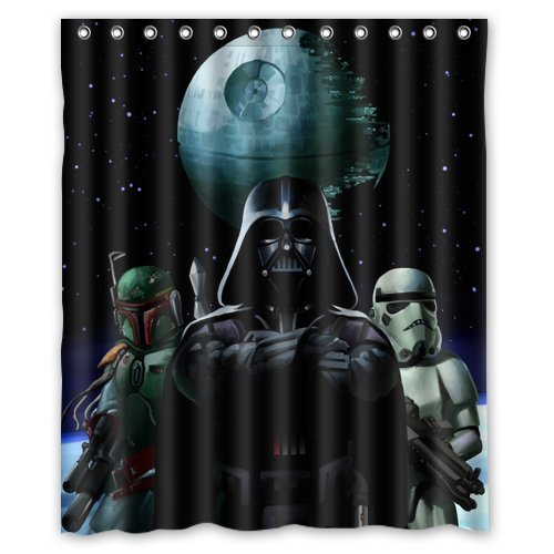 Generic Star Wars Shower Curtain 60-Inch By 72-Inch