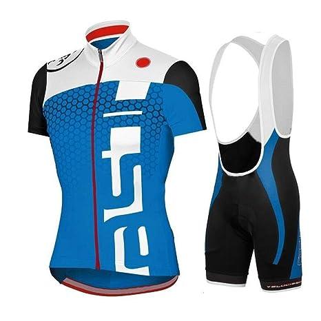 d76f1f21e1de logas Completo Ciclismo Uomo Estivo Maglia Ciclismo Maniche Corte Squadra  Professionale (Set-05,