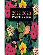 2022-2023 Pocket Calendar: Two year Monthly Calendar Planner January 2022 Up to December 2023 For To do list Planners And Pocket Academic Agenda Schedule (Purse Pocket Planner 2022-2023)