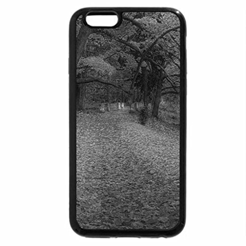 iPhone 6S Plus Case, iPhone 6 Plus Case (Black & White) - Autumn.
