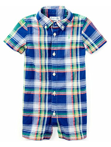 Ralph Lauren Baby Boys Cotton Madras Shortall