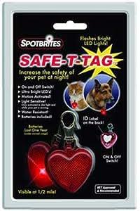 Safe-T-Tag Heart-Shape Led Id