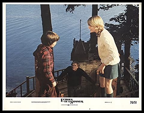 Echoes of a Summer 1976 ORIGINAL MOVIE POSTER Drama - Dimensions: 11