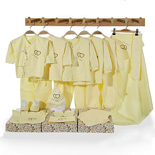 659bda8b58e2 XDEASNewborn child Clothes Newborn child Gift Set Of 28 Cotton ...