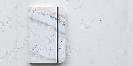 Rock Design - Cuaderno Papel de Piedra Mármol Rosa