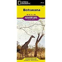 Botswana Adventure Map