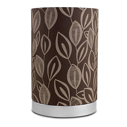Mainstays Leaf Fabric Uplight Room Lamp