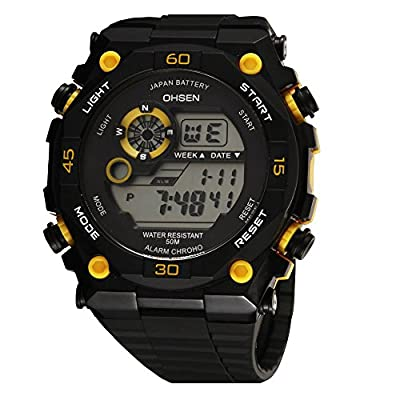 Cool New Hot Kids Fashionable Multifunctional Outdoor Digital Sport Watch Compass Alarm El Light Japanese Battery from AUTULET
