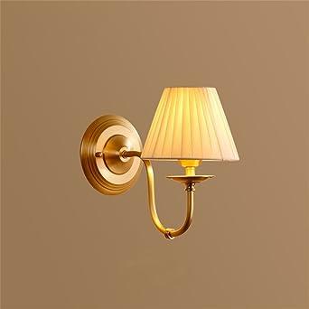 Wcs American Country Wandleuchte Kupfer Schlafzimmer Nachttischlampe