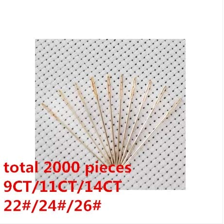 Embroidery Needles - Embroidery Needle Cross Stitch Needle 2000 Pieces-Factory Shop by Embroidery Needles