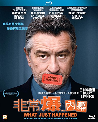 What Just Happened (Region A Blu-Ray) (Hong Kong Version) Chinese subtitled