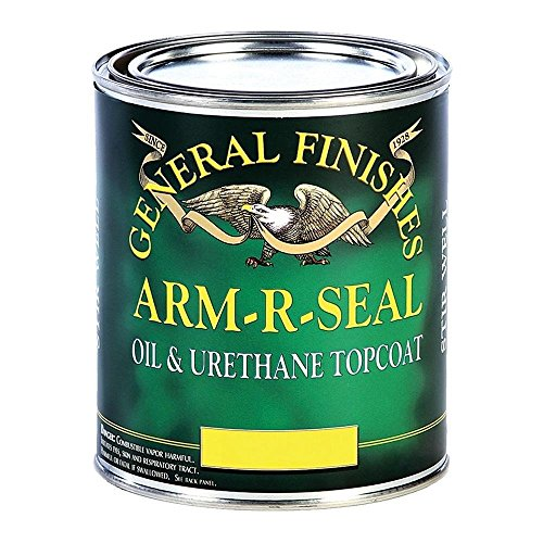 (General Finishes Arm R Seal Top Coat, Satin, Pint)