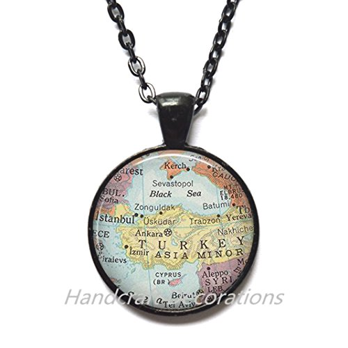 Charming Necklace Dallas map Pendant, Dallas map Necklace, Dallas Pendant, Dallas Necklace, map - Highlands Arlington Map