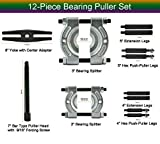 YOTOO Bearing Pullers Set 5 Ton Capacity, Bearing