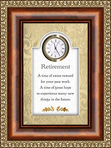 Retirement - Sweet Reward - 6' X 8' Tabletop Clock