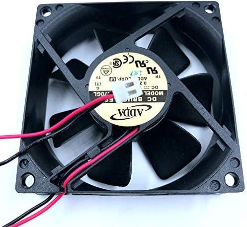 Brand New AD0812HB-A70GL 8cm 8025 80mm fan 80x80x25mm 12V 0.25A 3000RPM 38CFM Double ball bearing cooling fan