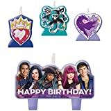 Amscan Disney Descendants 2 Birthday Candle Set (2-Pack)