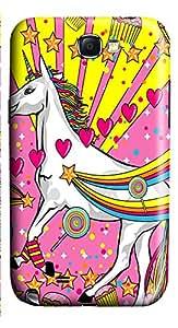 Samsung Note 2 Case Pink Unicorn 3D Custom Samsung Note 2 Case Cover