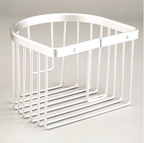 1Pc Aluminum Wall-mounted Corner Storage Holder Bin Shower Caddy Shelf (Gal Aluminum Roof)