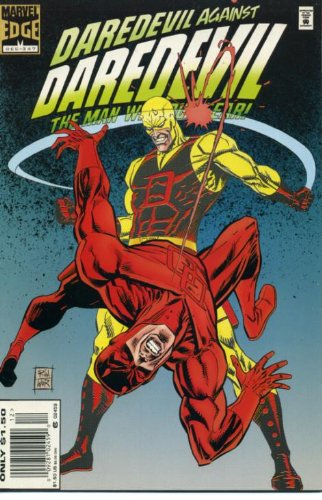 Daredevil #347 Yellow Daredevil vs Red Daredevil