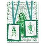 Green Cloth Scapular Immaculate Heart of Mary and