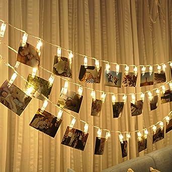 30 Led Foto Clips String Foto Clips Lichterketten Foto Clips Lights