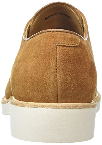 Sebago Machall Lace Up Scarpe Stringate Uomo Marrone camel Suede