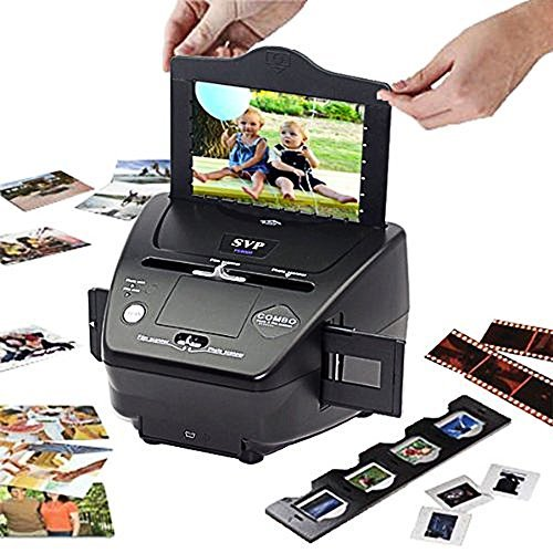 SVP 3-in-1 PS9000 Digital Film, Photo, and Slide Scanner